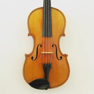 German viola with Decorated back