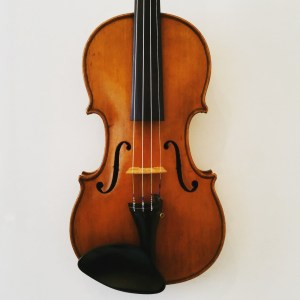 English violin by George Pyne dated 1917