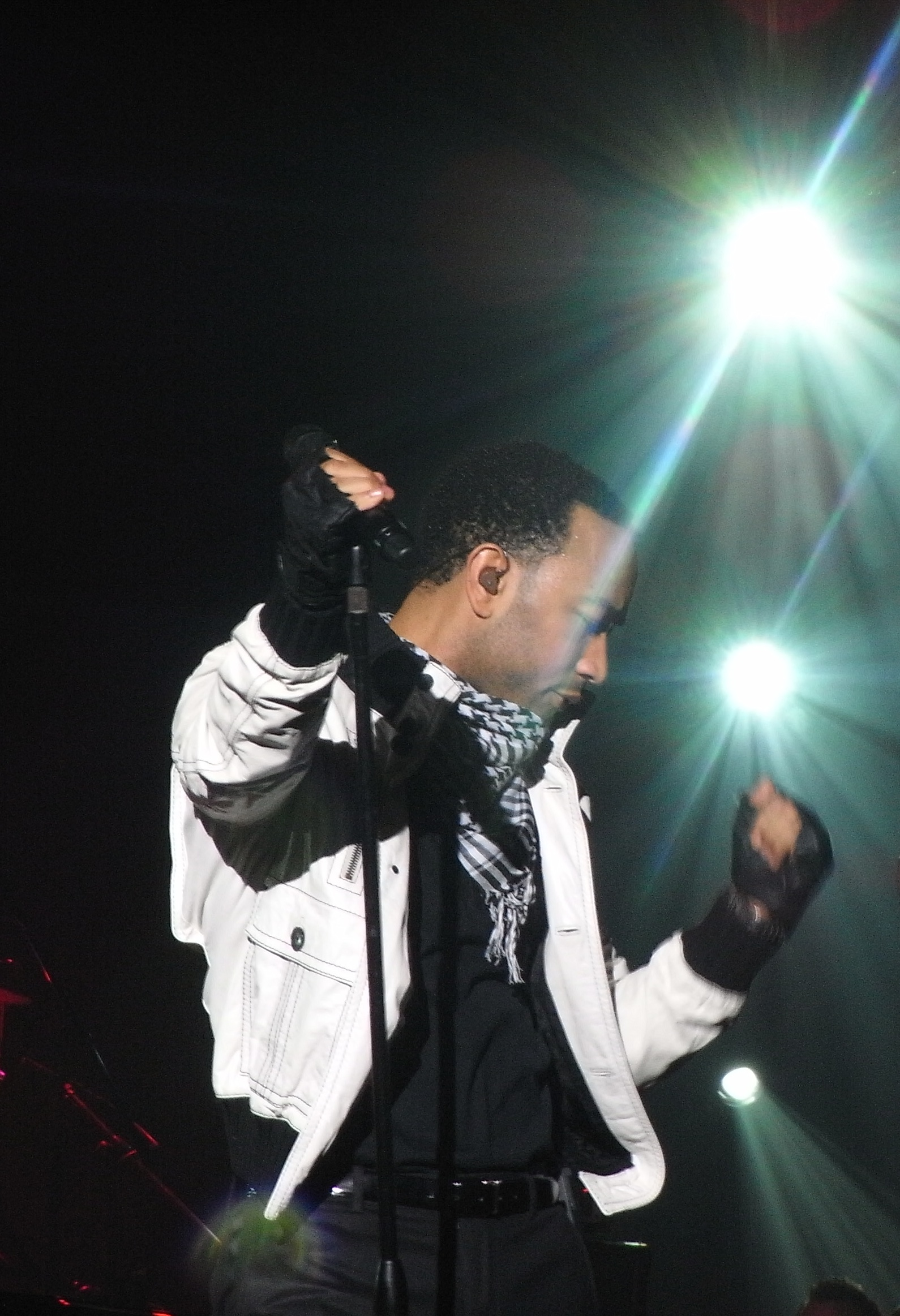 John Legend in Shanghai