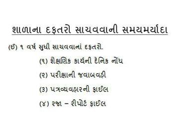 School Record-Daftaro Sachvavani Samay Maryada