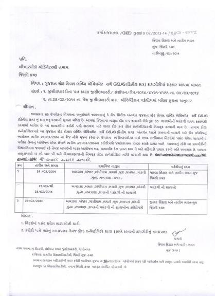 Kutch District GAP 7 Second Semester Exam