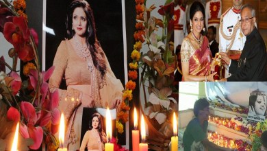 Photo of Sridevi Merged in The Five Elements, Funeral Done With State Honor