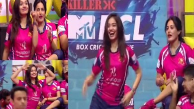 Photo of TV Actress Divya Agarwal Viral Dance Video, Box Cricket League