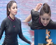 Yami Gautam | Pole Dancing And Yoga Swimming | Video Viral