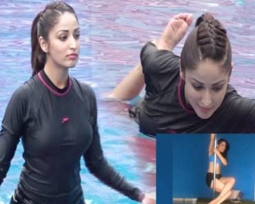 Yami Gautam | Pole Dancing And Yoga Swimming | Video Viral