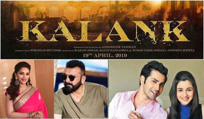 kalank movie, kalank movie cast, kalank movie made in fiji, kalank movie news, kalank movie salman khan, kalank hindi movie, kalank fiji movie, kalank ka tika movie, kalank shobha marathi movie, hindi movie kalank ka tika, Kalank Movie Review, Kalank Movie Trailer, Kalank Movie Release date, Kalank Movie 2019, Sanjay Dutt, Madhuri Dixit, Sonakshi Sinha, Alia Bhatt, Varun Dhawan and Aditya Roy Kapur.