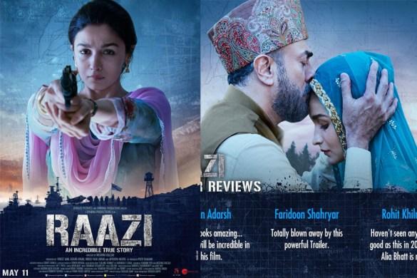 Raazi Movie Trailer Release । Actress Alia Bhatt । Watch Trailer, Cast, Review, Movie,