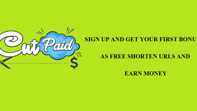 Photo of Cutpaid Shorten Url Sign Up Bonus for $ 1 | Second Website – Tmearn