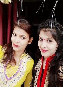 pooja golhani sister, pooja golhani sister photo, pooja's sister, pooja sister name