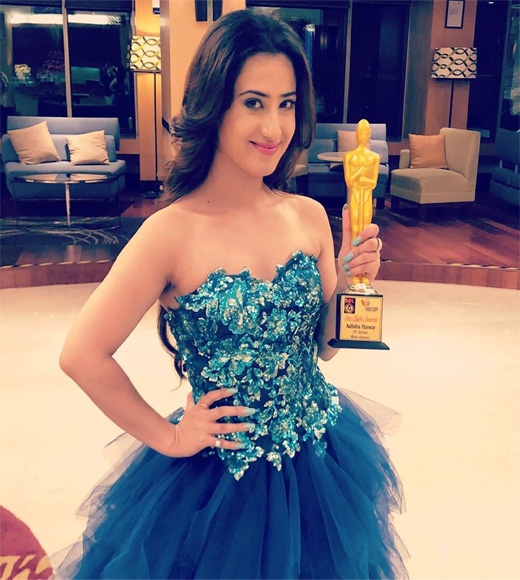 Alisha Panwar Awards