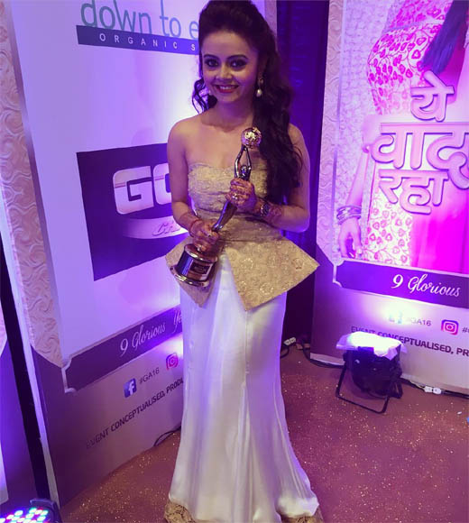 devoleena bhattacharjee awards