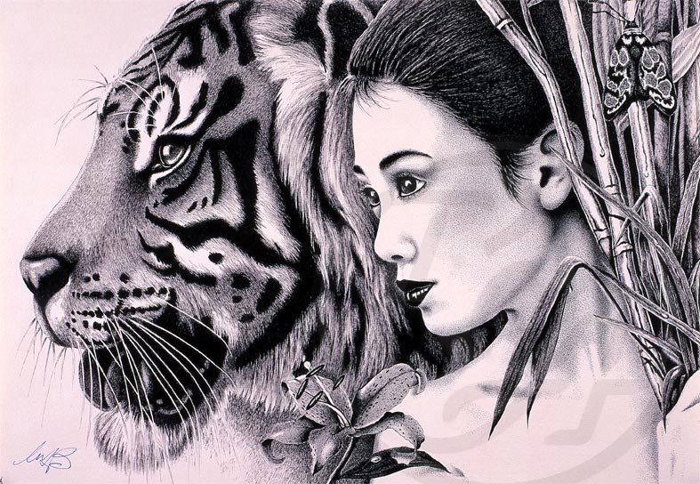 Image result for the lady or the tiger