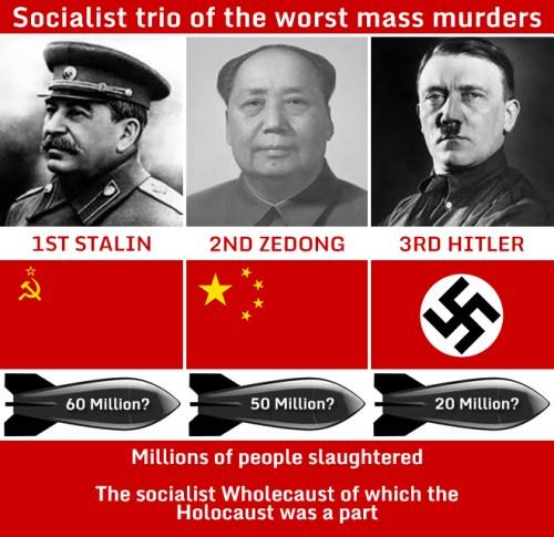 Socialism's worst murderers