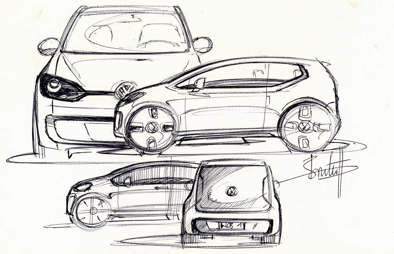 Sketch Of Cars