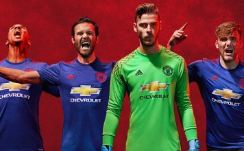 Seragam Away Manchester United 2016/2017