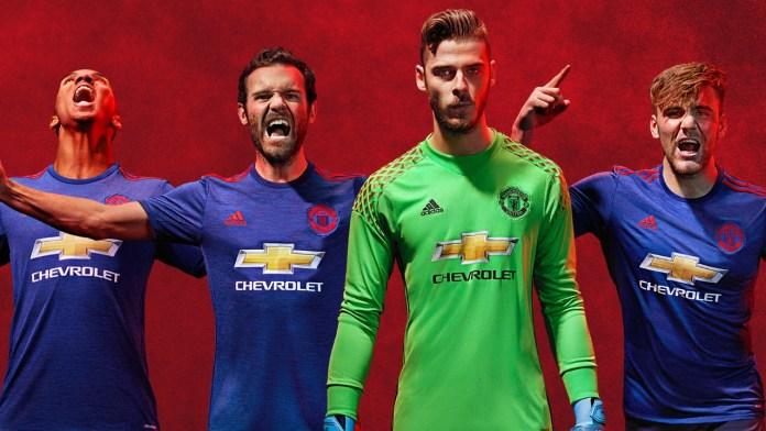 Seragam Away Manchester United 2016/2017