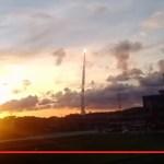 Gambar Peluncuran Satelit BRI BRIsat
