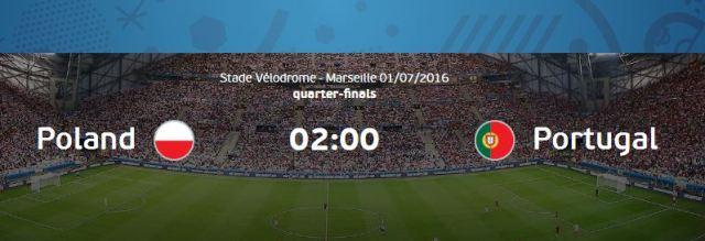 Prediksi Polandia vs Portugal Euro 2016