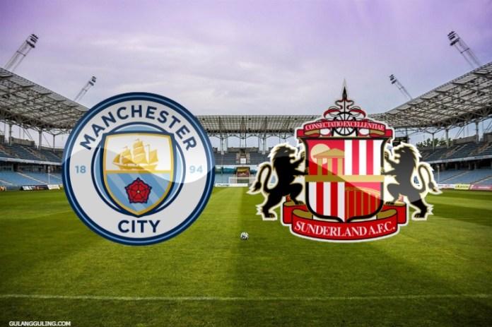 Gambar Jadwal Pertandingan Manchester City vs Sunderland