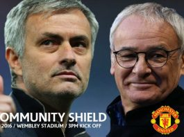 Gambar Pertandingan Manchester United vs Leicester City