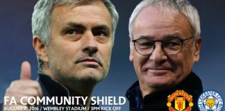 Gambar Pertandingan Manchester United vs Leicester City