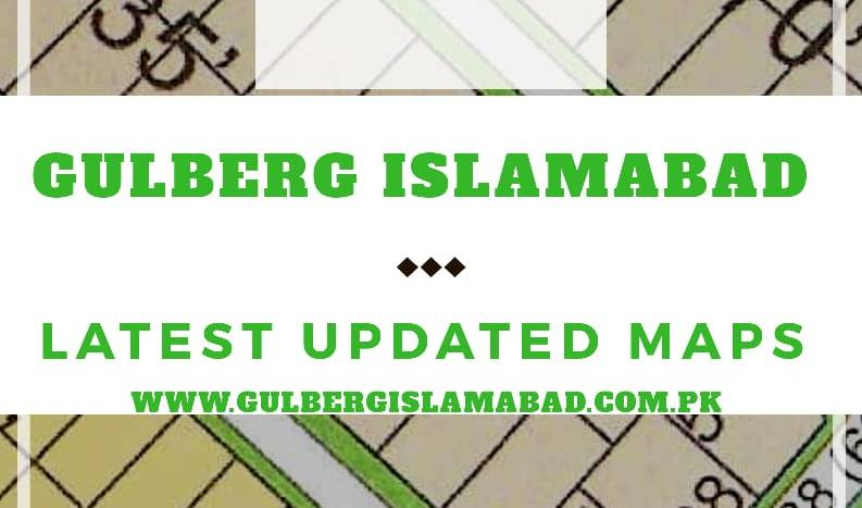 Gulberg Greens Maps
