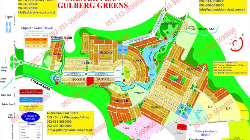Gulberg Greens Farm House For Sale