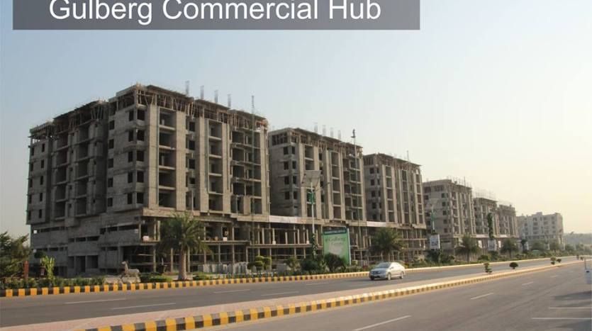 Commercial projects in Gulberg Greens