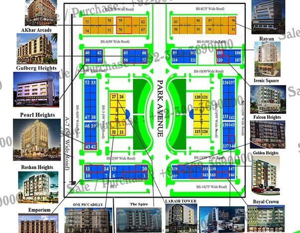 Business Square Commercial , Gulberg Greens Islamabad