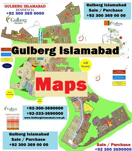 Master Plan of Gulberg Residencia