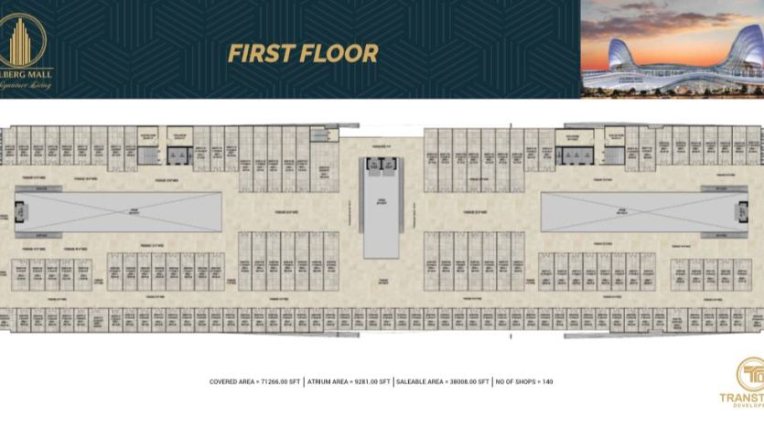 Gulberg Mall First Floor Payment Plan