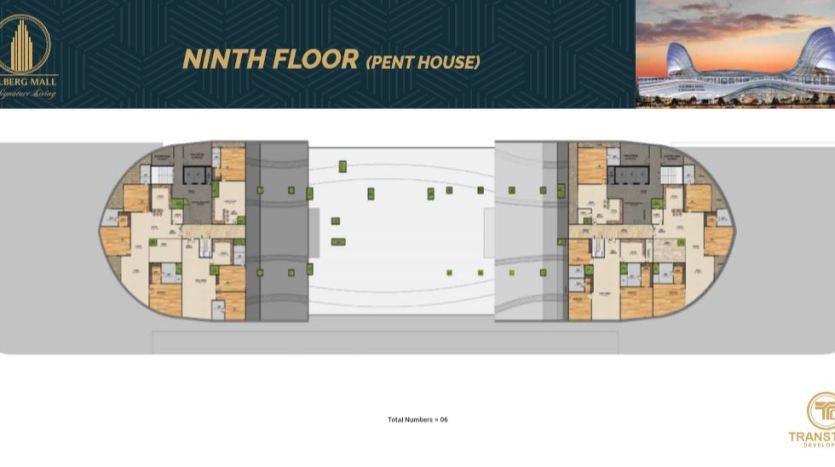 ninth floor pent house