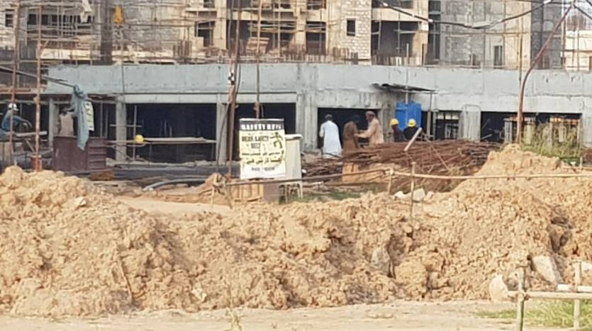 Gulberg Dream Heights Construction Updates 05