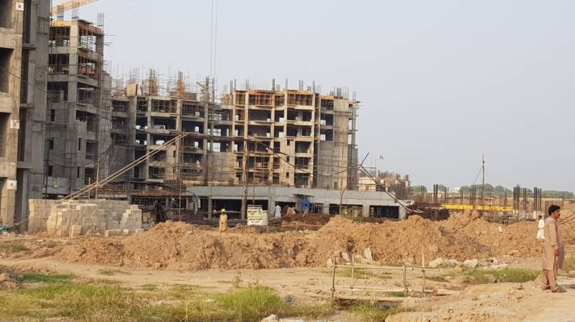 Gulberg Dream Heights Construction Updates 02