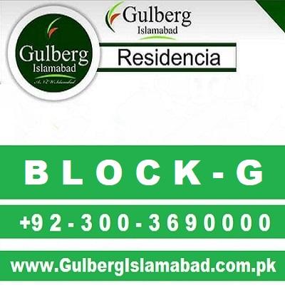 Gulberg Residencia Block G