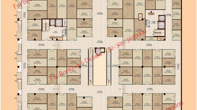 D 8 Heights Ground Floor Floor Plan