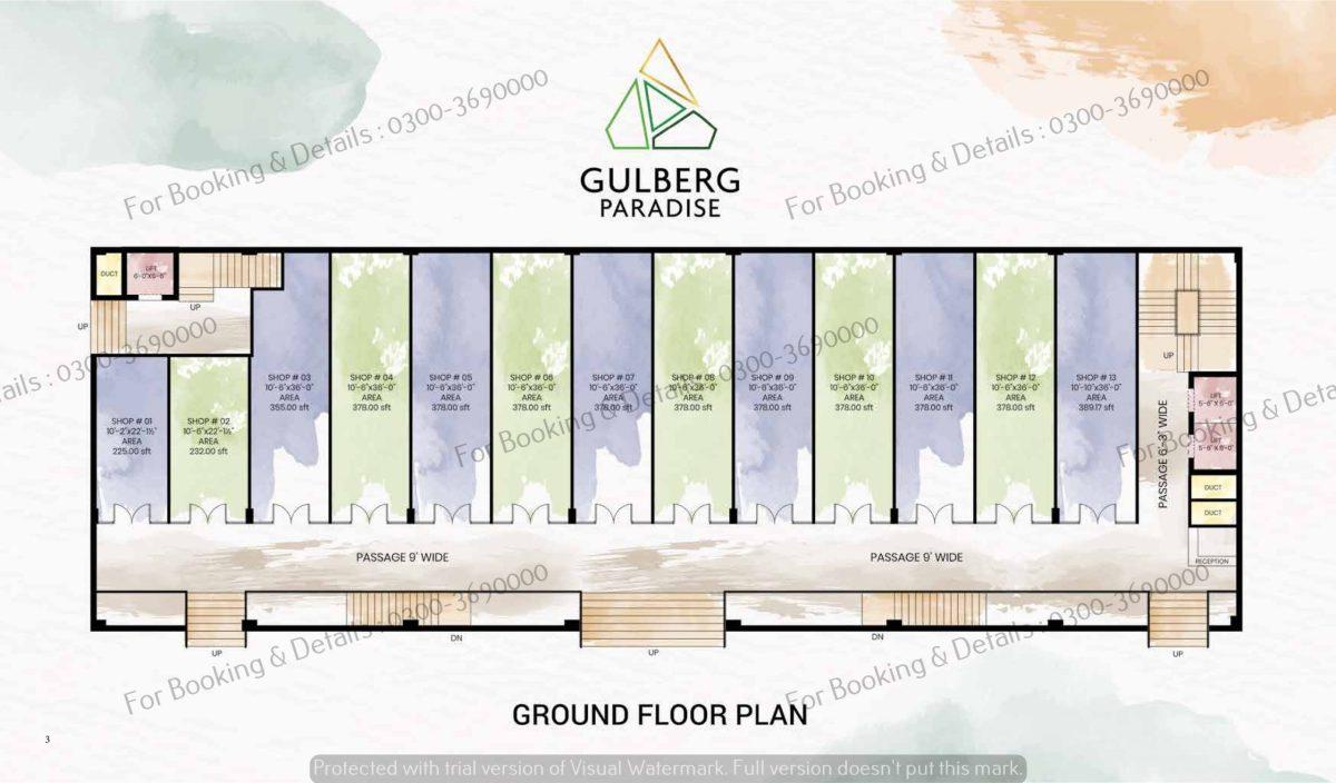 Ground Floor Gulberg Paradise