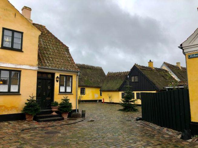 gamle huse i Dragør