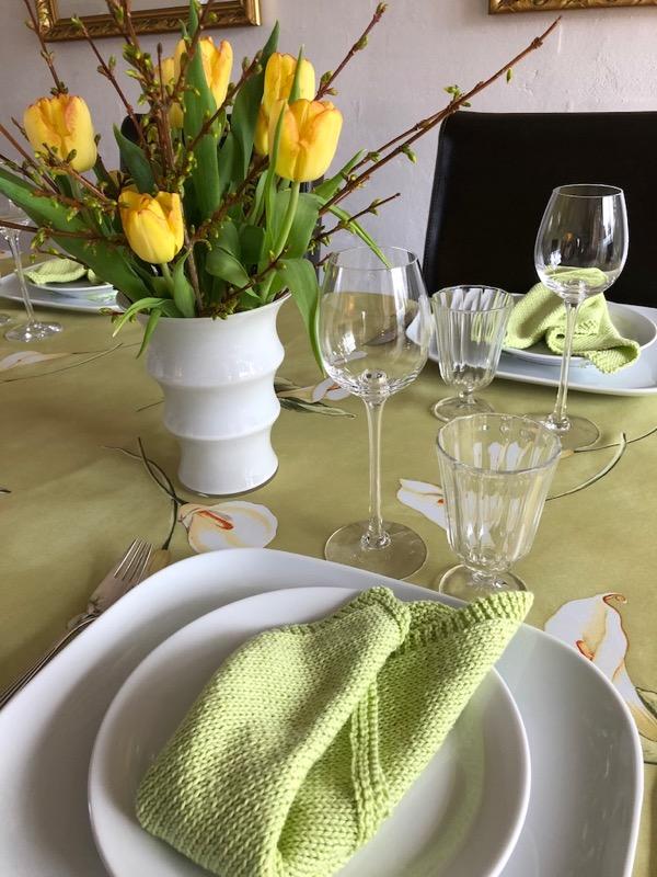 grønne servietter