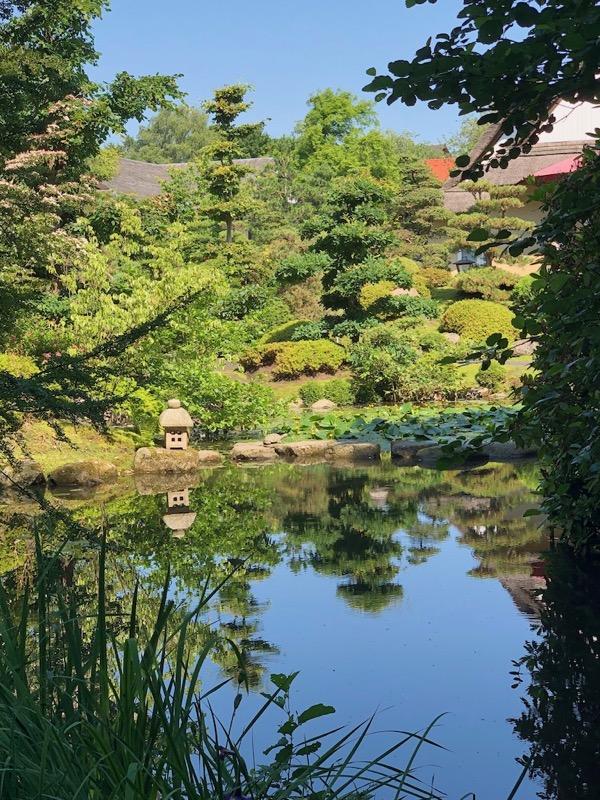 Lille sø i de Japanske haver