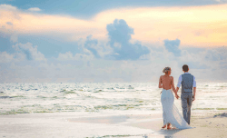 mariage à la plage