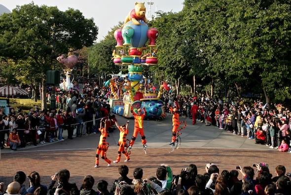 Disney Profit Rises 54% On Gains At Theme Parks, ESPN Sports Channel