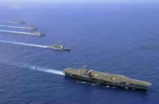 U.S. Aircraft Carrier Gulf Presence Reduced