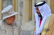 UAE's Sheikh Khalifa Visits The UK's Queen