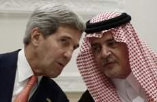 Kerry Says Saudi King Backs Israeli-Palestinian Push