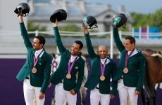 Olympics: Saudi Wins Bronze In Equestrian Event