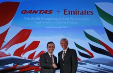 Emirates Enters 10-Year Alliance With Qantas