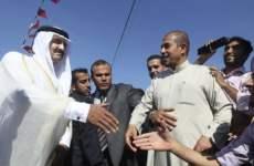 Qatar's Emir Says Israel Should Stop Gaza Siege