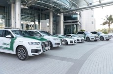Two Audi R8 supercars join Dubai Police fleet