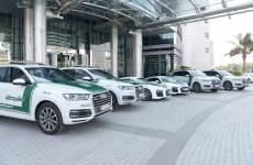 Two Audi R8 supercars join Dubai Police fleet